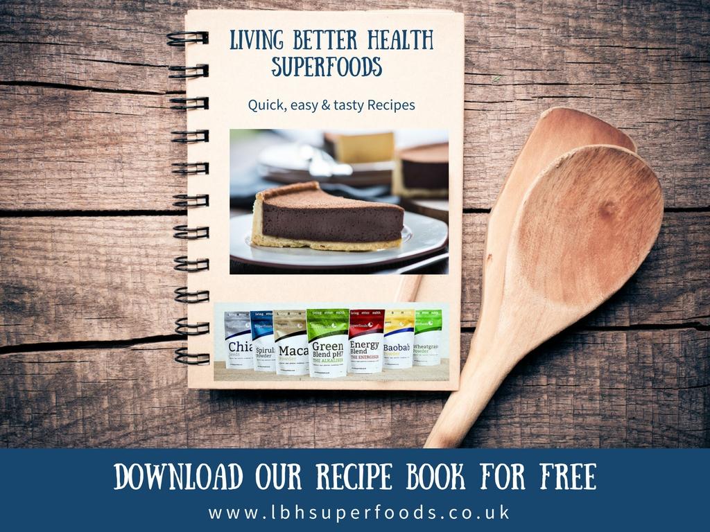 lbh superfoods recipe book promo