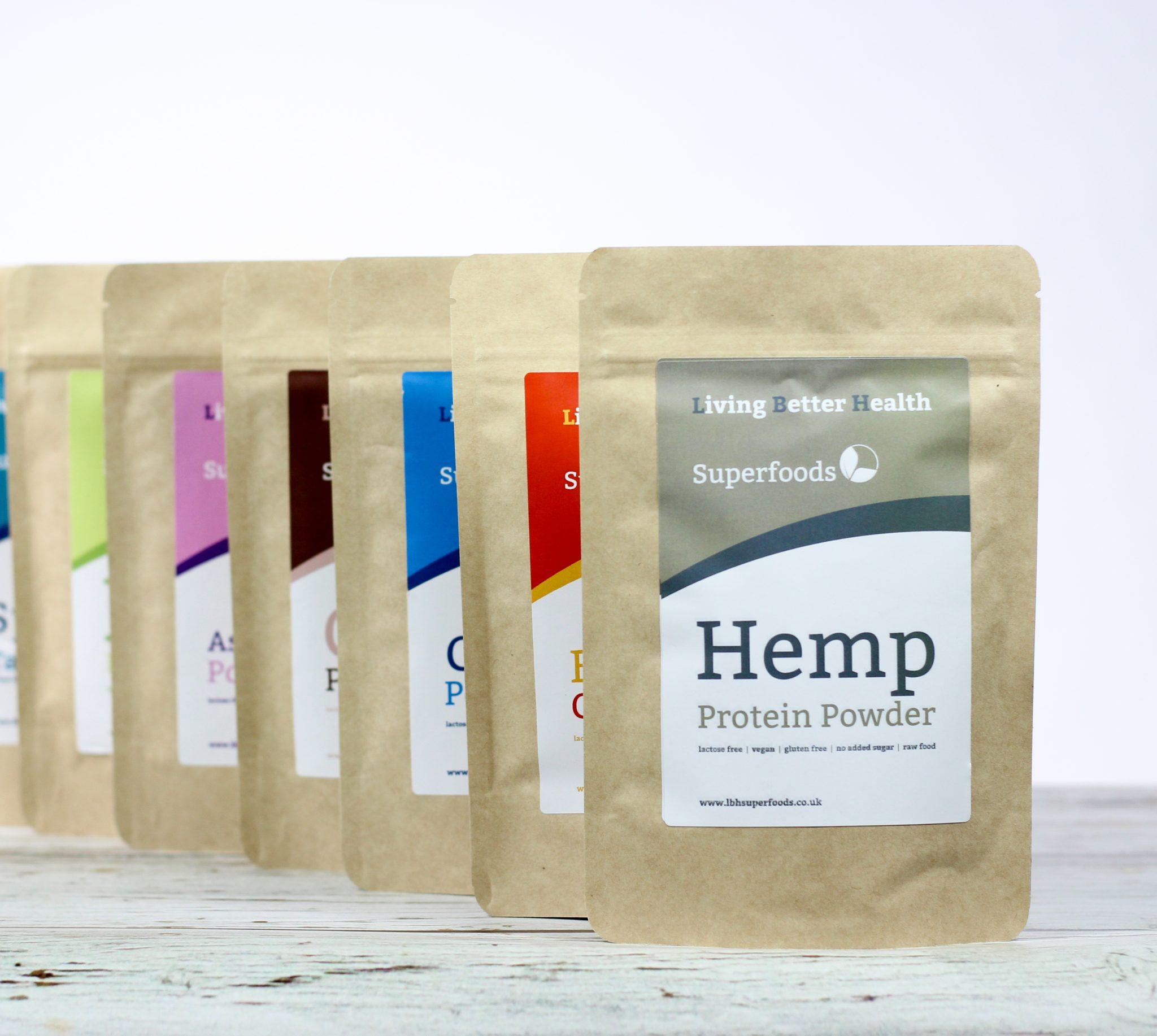 Organic Hemp Protein Powder